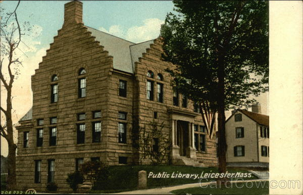 Public Library Leicester Massachusetts