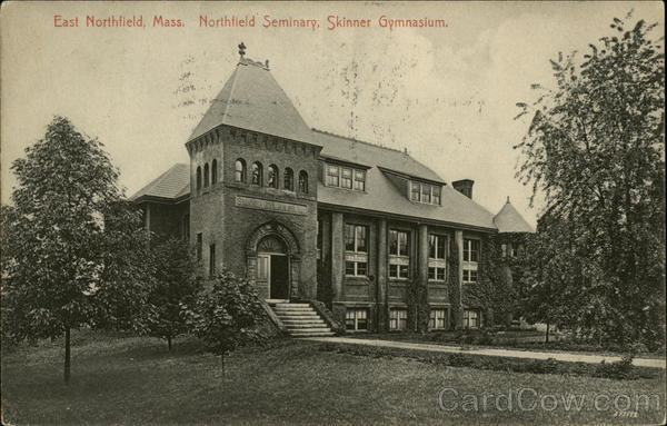 Northfield Seminary, Skinner Gymnasium East Northfield Massachusetts