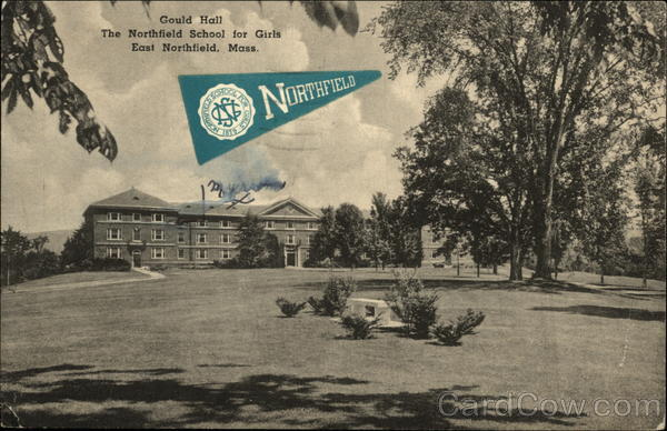 Gould Hall, The Northfield School for Girls East Northfield Massachusetts