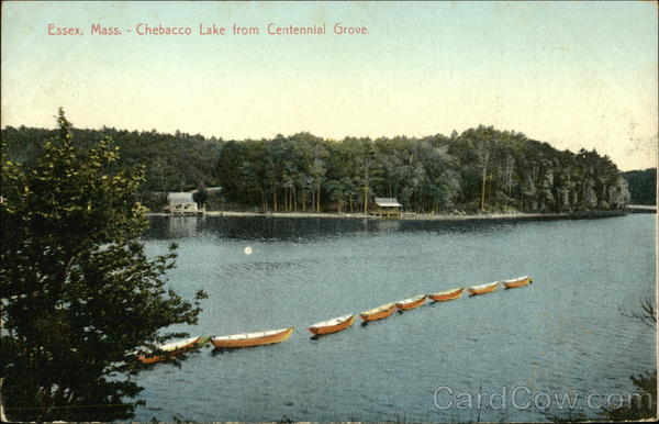 Chebacco Lake From Centennial Grove Essex Massachusetts