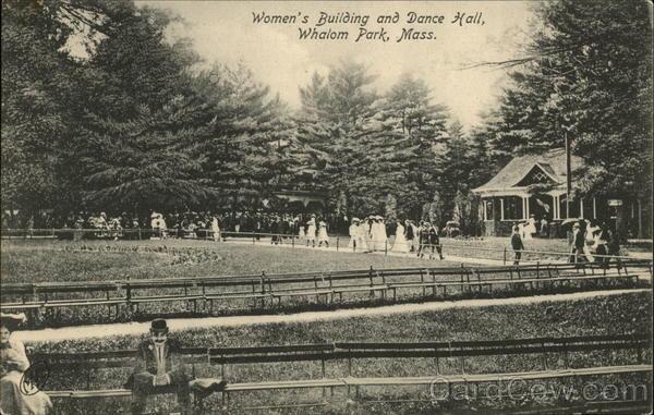 Whalom Park - Women's Building and Dance Hall Lunenburg Massachusetts