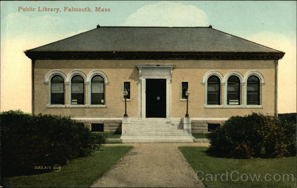 Public Library Falmouth Massachusetts