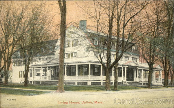 Irving House Dalton Massachusetts