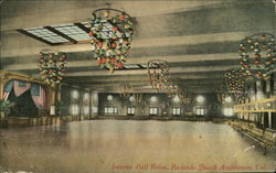 Interior Ball Room, Redondo Beach Auditorium