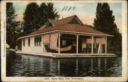 House Boat, Lake Washington