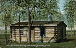 Pres. Roosvelt's Cabin, Capitol Grounds