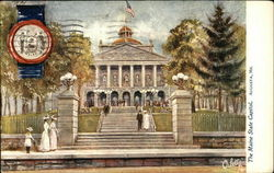The Maine State Capitol
