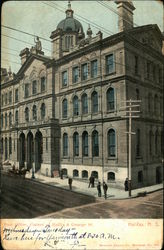 Post Office, Corner of Hollis & George St