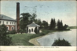 The Pumping Station and Spot Pond