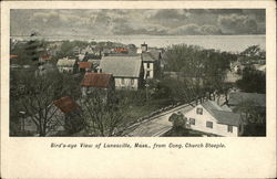 Bird's Eye View from Congregational Church Steeple