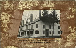 Old Middlesex Tavern, Built in 1800, at Old Middlesex Village
