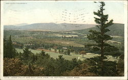 Lenox Valley and Golf Links from the Aspinall