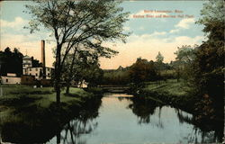 Nashua River and Merriam Hall Plant