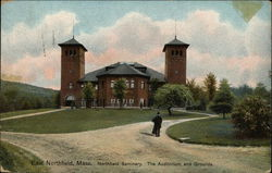 Northfield Seminary - The Auditorium and Grounds