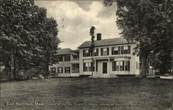 Home of the late Dwight L. Moody, founder of Northfield Seminary