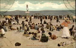 Bathers at Revere Beach, Mass