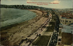 Revere Beach and Boulevard from Nautical Gardens Tower