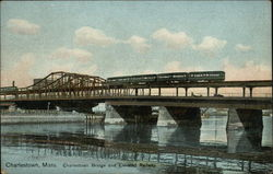 Charlestown Bridge and Elevated Railway