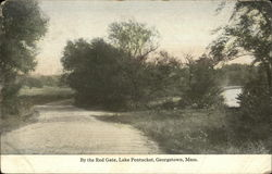 By the Red Gate, Lake Pentucket, Georgetown, Mass