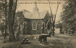 Boyden Memorial Hall and Library