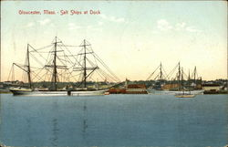 Salt Ships at Dock