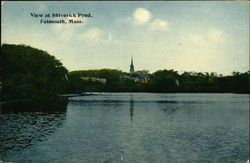 View at Shiverick Pond