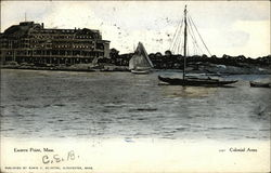 Eastern Point, Colonial Arms Postcard