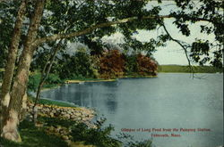 Glimpse of Long Pond from the Pumping Station