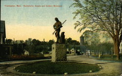Buckminster Square and Soldiers Monument