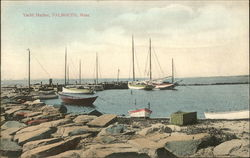 Old Stone Wharf on Surf Drive Postcard