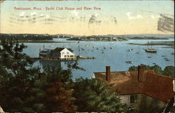 Yacht Club House and River