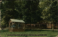 Chautauqua Bells and Part of Public Buildings, Montwaite Postcard