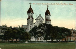 Ste Anne's Church from South Park