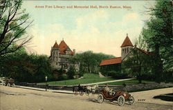 Ames Free Library and Memorial Hall