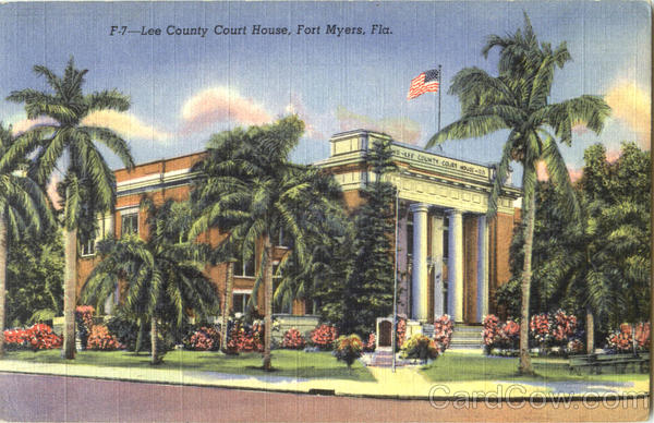 Lee County Court House Fort Myers Florida