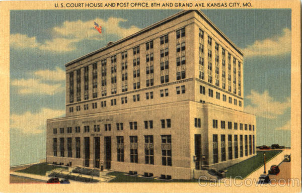 U. S. Court House And Post Office, 8th and Grand Ave Kansas City Missouri