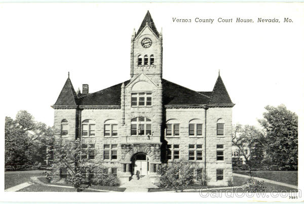 Vernon County Court House Nevada Missouri