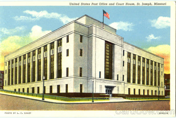 United States Post Office And Court House St. Joseph Missouri