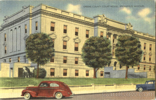 Green County Court House Springfield Missouri