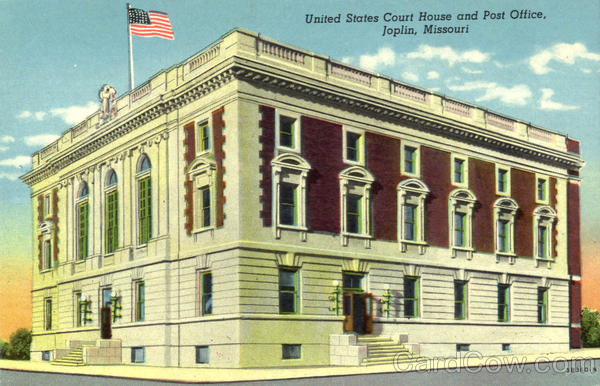 United States Court House And Post Office Joplin Missouri