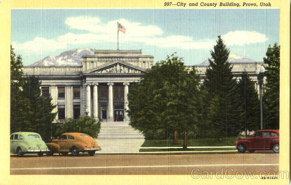City And County Building Provo Utah