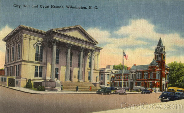 City Hall And Court Houses Wilmington North Carolina