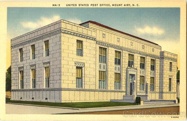 United States Post Office Mount Airy North Carolina