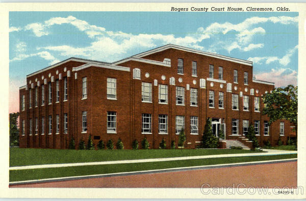 Rogers County Court House Claremore Oklahoma