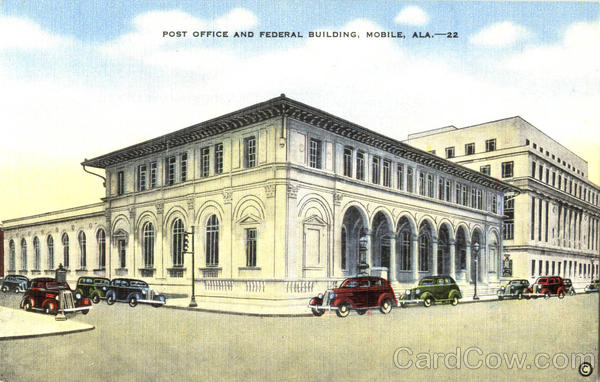 Post Office And Federal Building Mobile Alabama