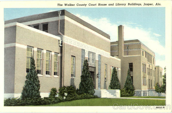 The Walker County Court House And Library Building Jasper Al