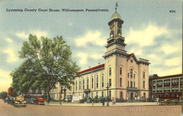 Lycoming County Court House Williamsport Pennsylvania