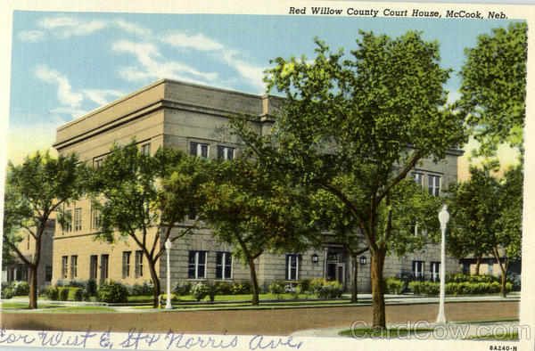 Red Willow County Court House McCook Nebraska