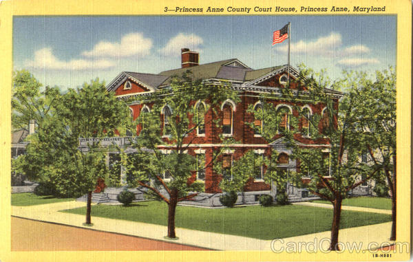 Princess Anne County House Maryland