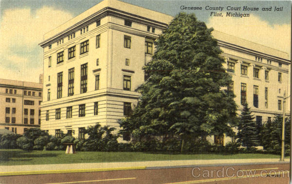 Genesee County Court House And Jail Flint Michigan